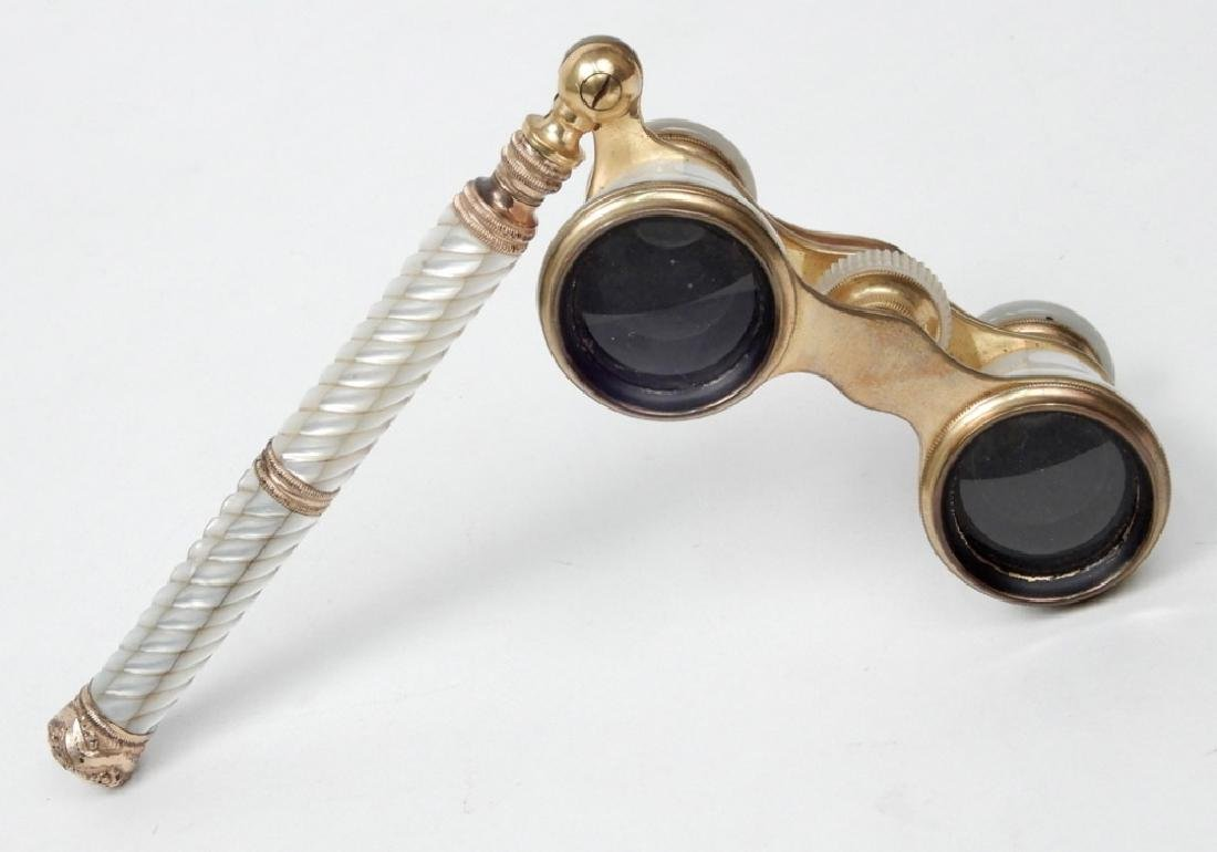 Audemair Paris mother of pearl opera glasses