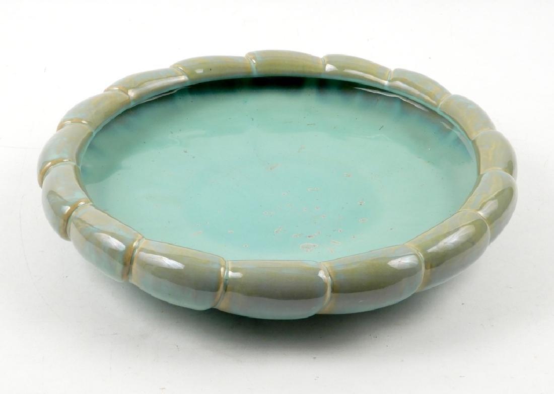 Fulper pottery low bowl