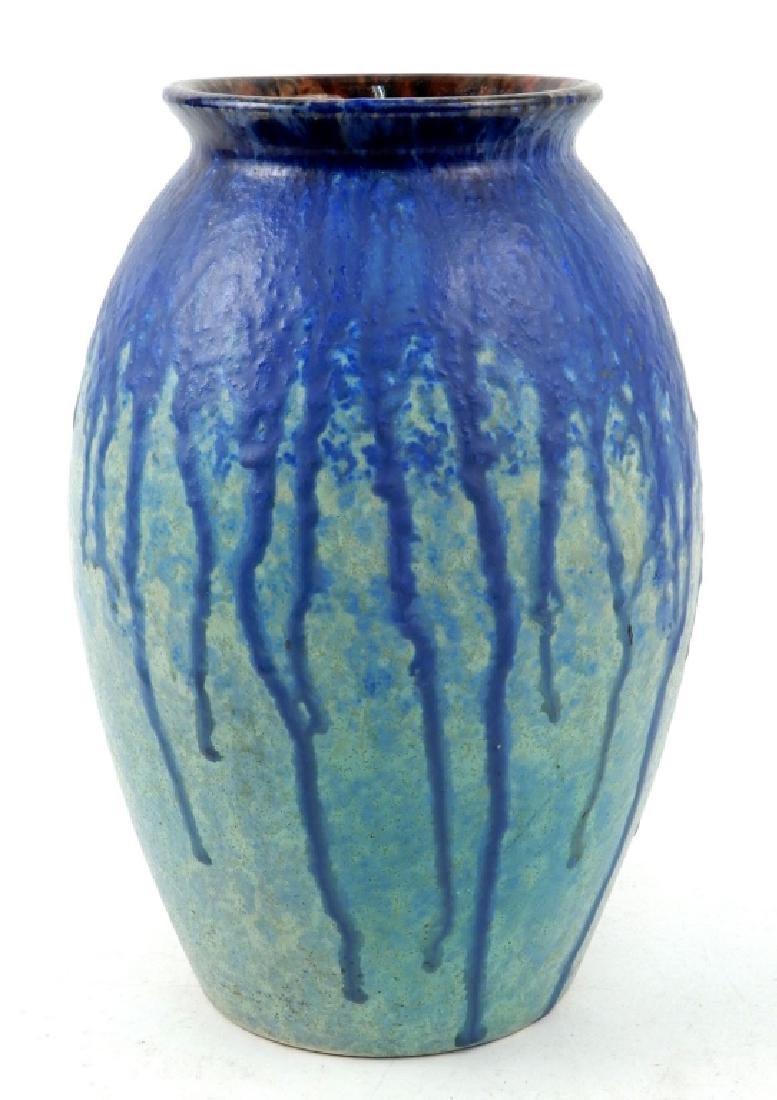 Villeroy & Boch drip glaze large vase