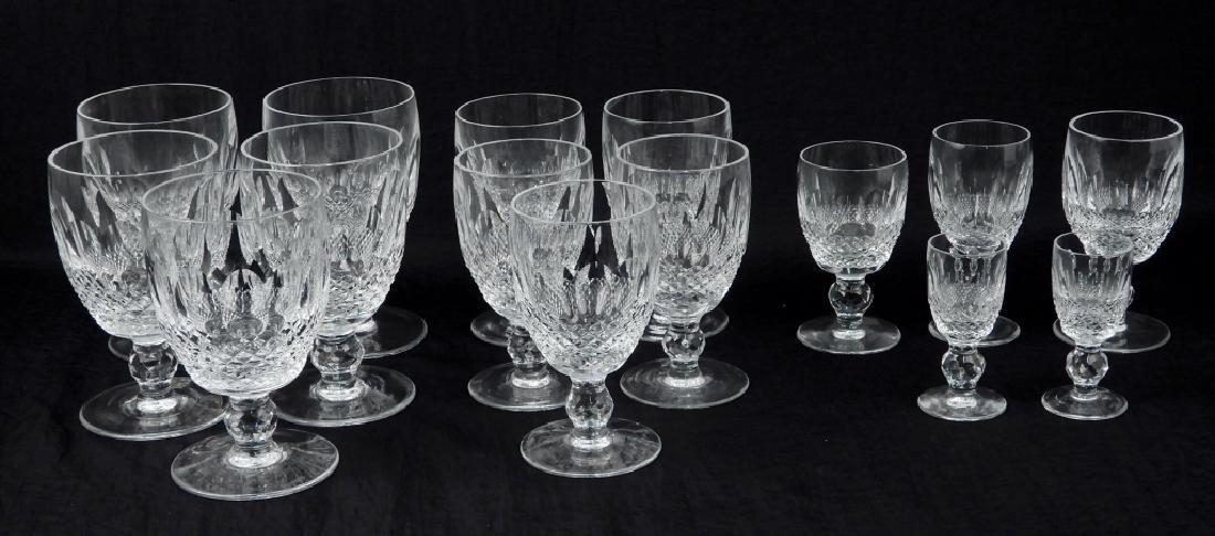 Waterford crystal Colleen stemware