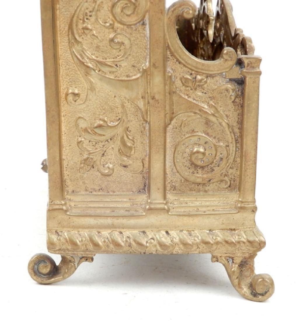 Victorian brass letter holder and Mottahedeh Design - 4