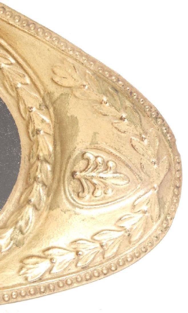 Victorian brass letter holder and Mottahedeh Design - 6