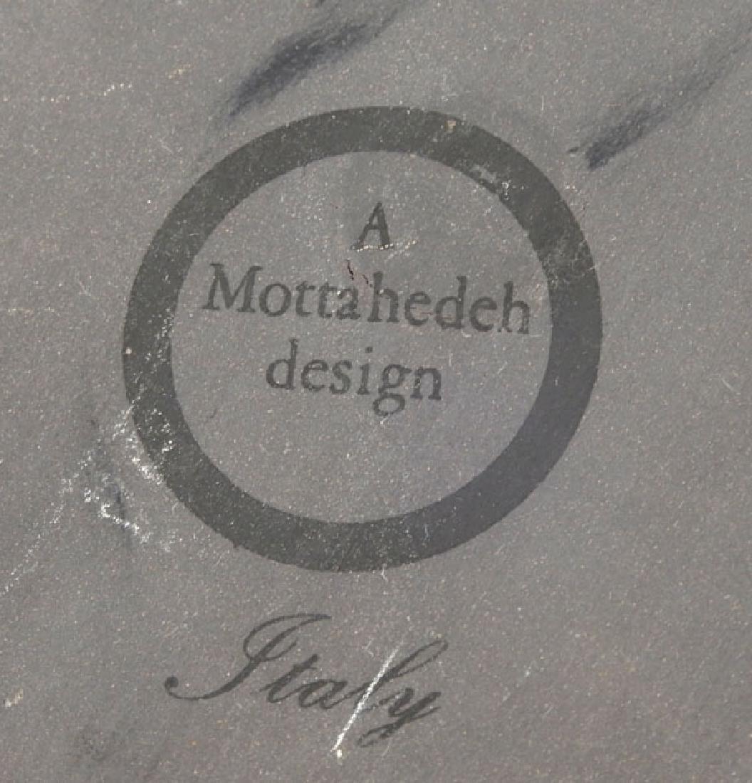 Victorian brass letter holder and Mottahedeh Design - 7