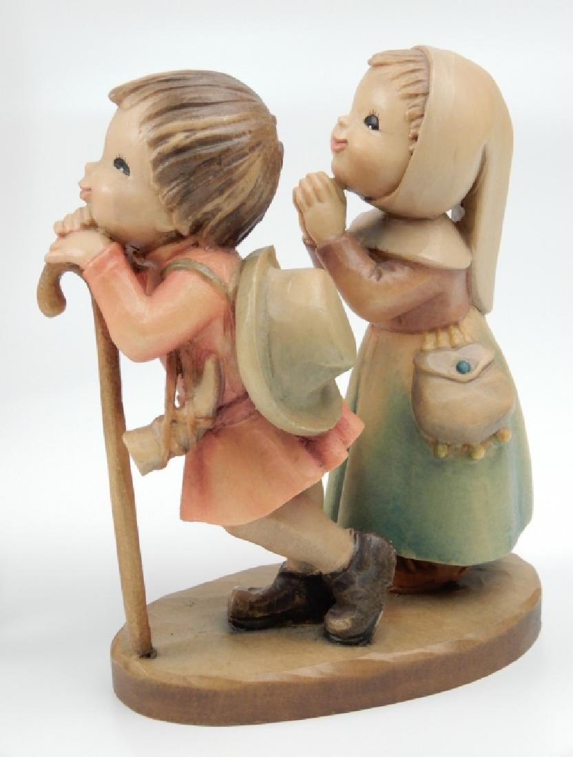Anri wood carved Nativity Set with Stable - 3