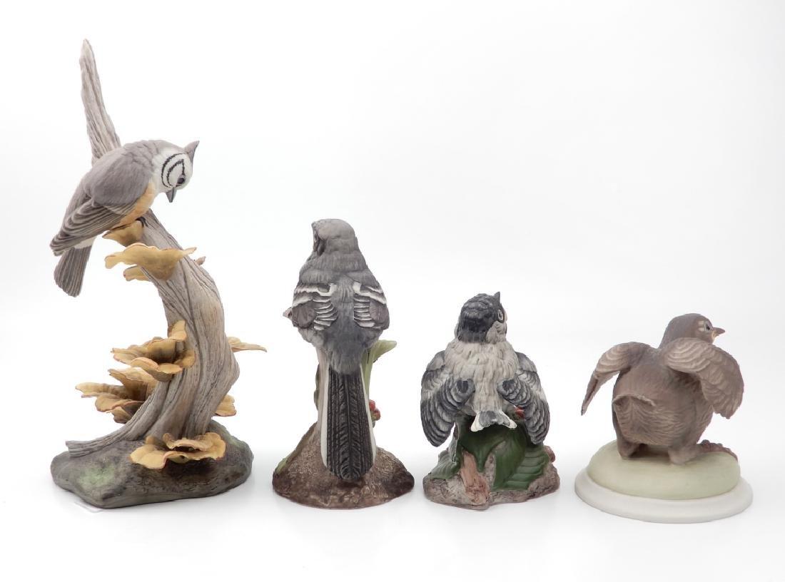 Four Boehm porcelain birds - 3