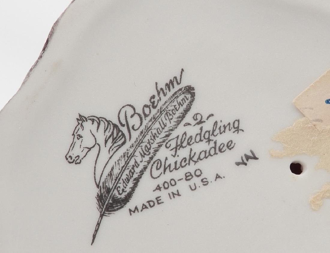 Four Boehm porcelain birds - 5