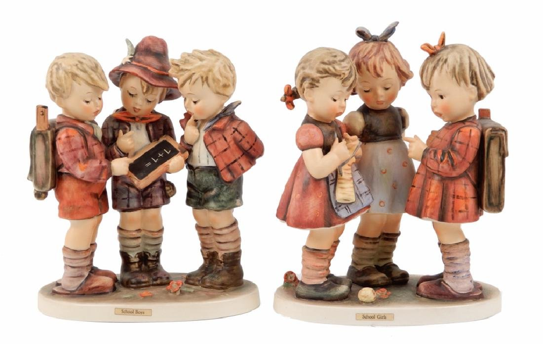 Two Hummel figurines