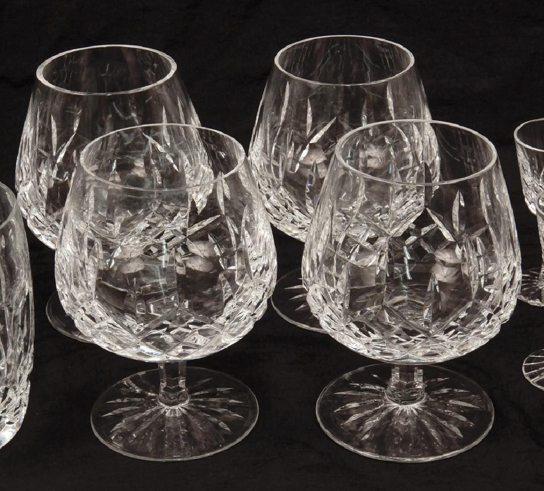 Grouping of Waterford crystal Lismore glasses - 3
