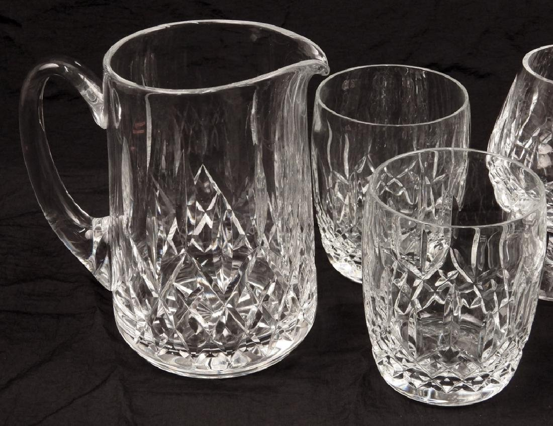 Grouping of Waterford crystal Lismore glasses - 4