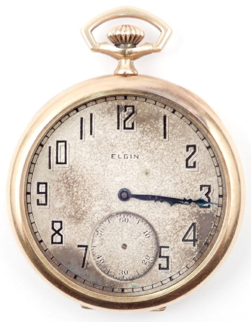 Vintage Elgin 14k gold pocket watch