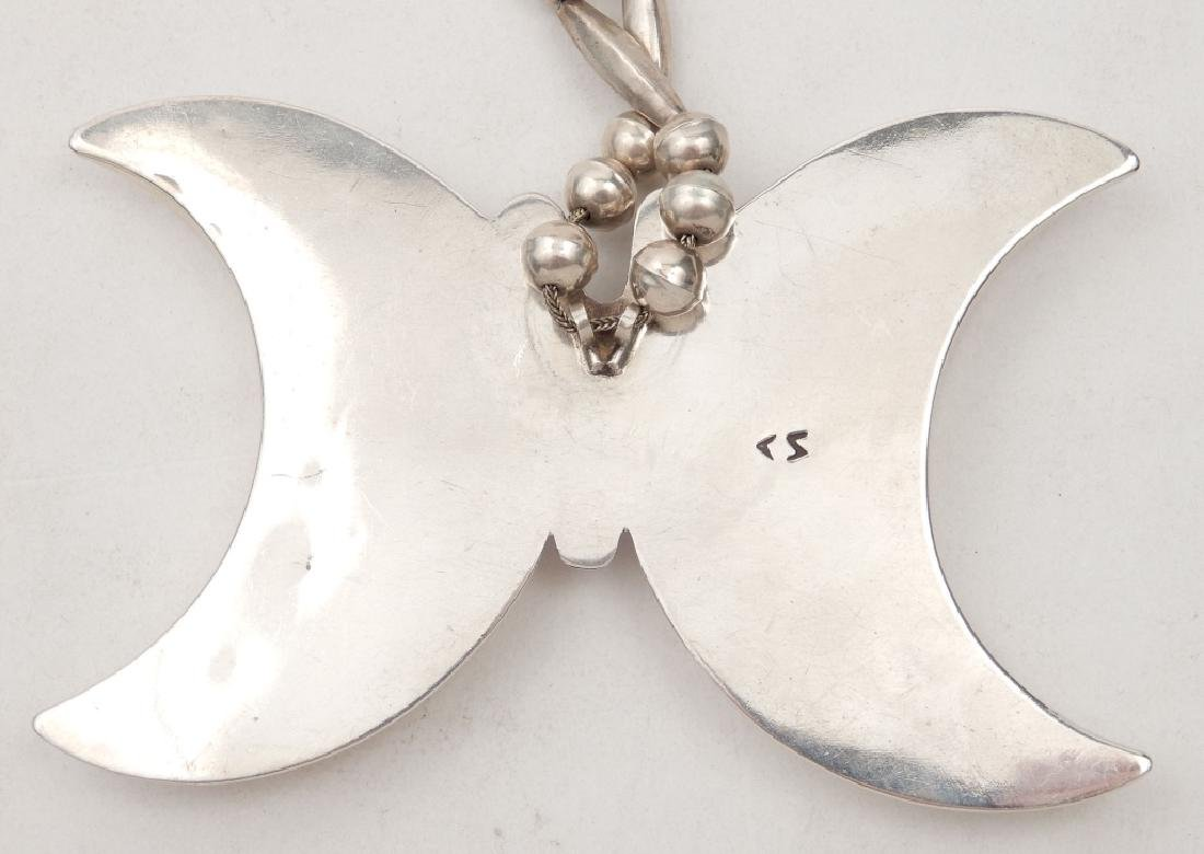 Native American Indian butterfly necklace - 3