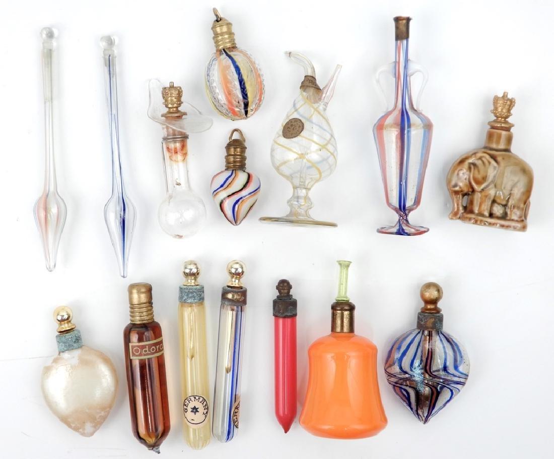 Vintage miniature perfume bottle collection
