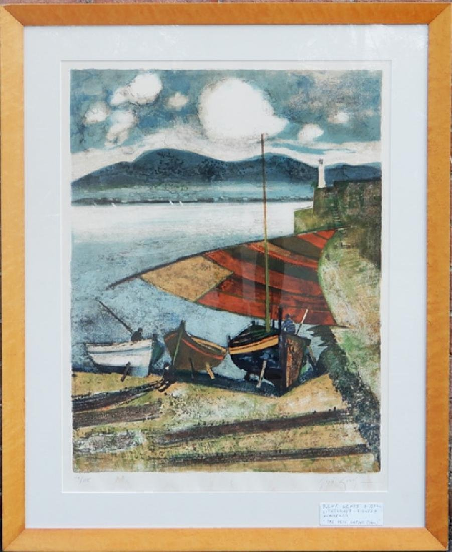 Rene Genis lithograph on paper