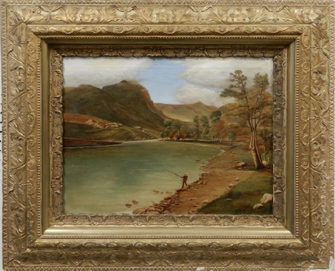 A. M. Ellis oil on canvas