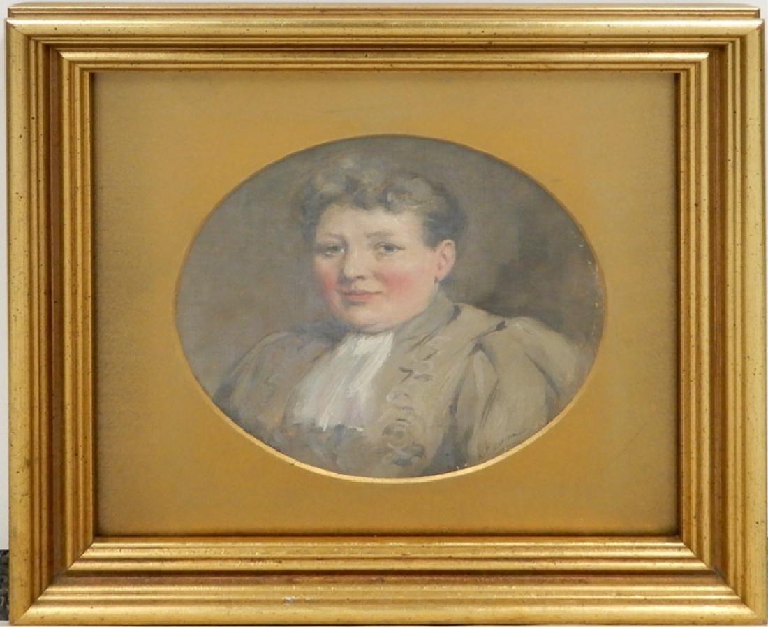 A. (Arthur) P. (Percy) Dixon oil on canvas board