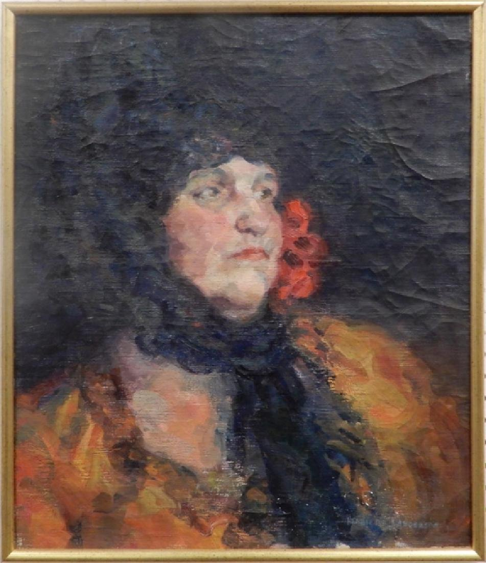 Henrietta Sanderson oil on canvas