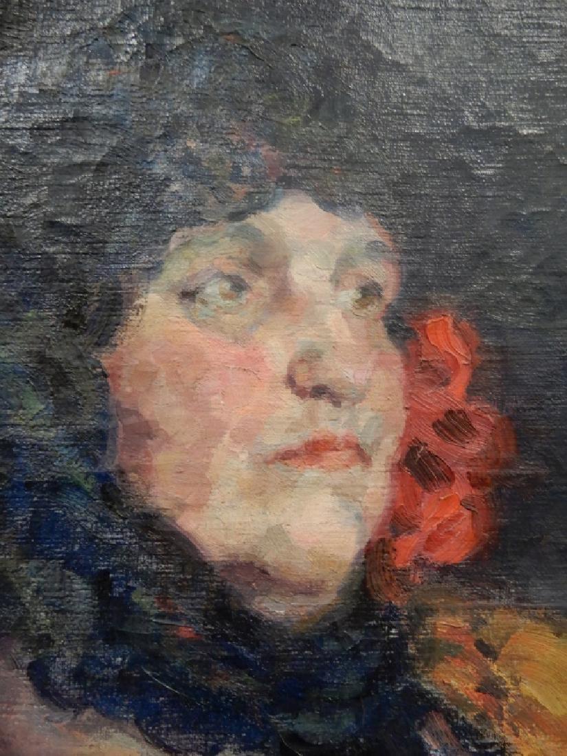 Henrietta Sanderson oil on canvas - 2