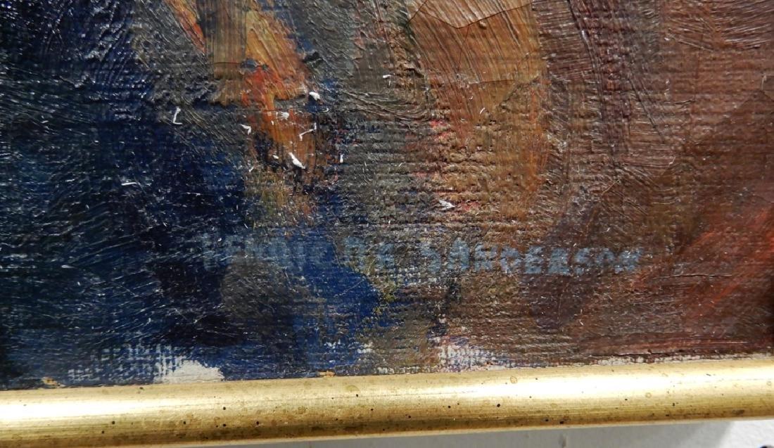 Henrietta Sanderson oil on canvas - 3