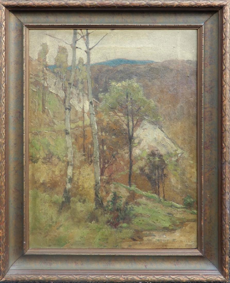 Alice Maud Fanner oil on canvas