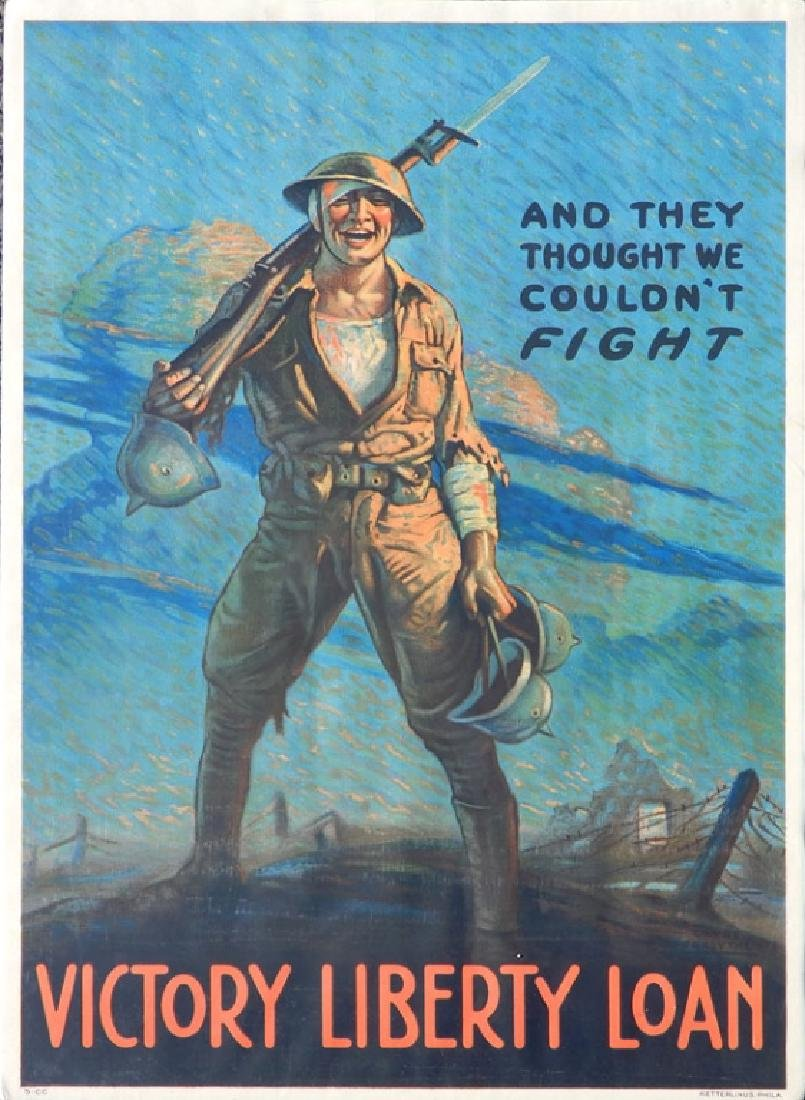 Two WWI lithographic posters on paper - 4