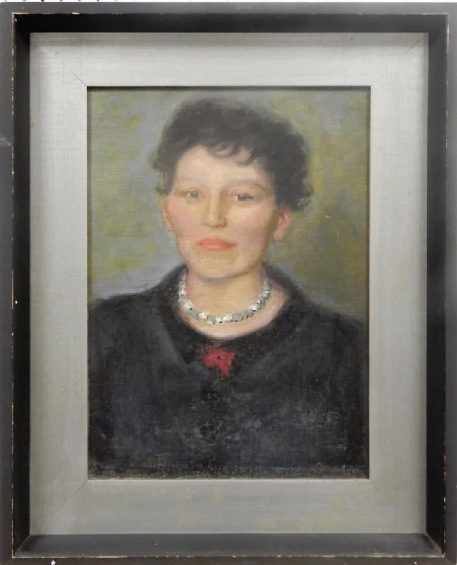 Charles Sydney Hopkinson oil on canvas board
