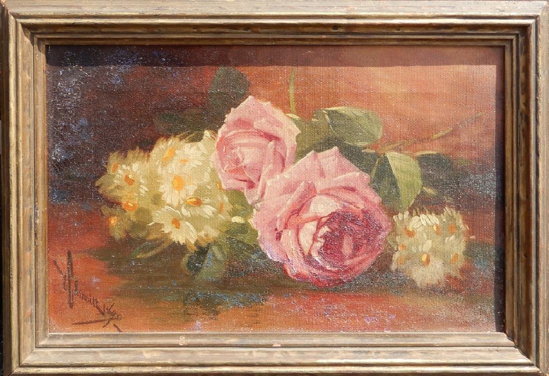 (Edward Chalmers) Leavitt oil on canvas