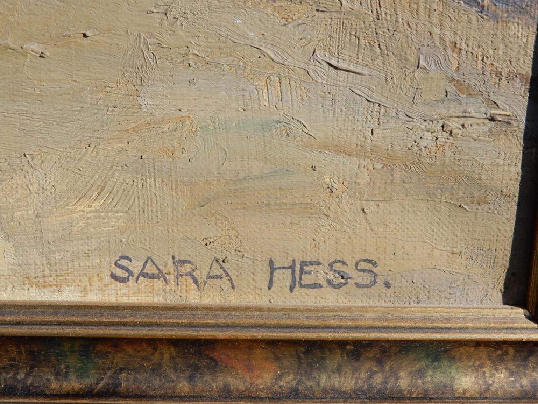 Sara (Mae) Hess oil on canvas - 3