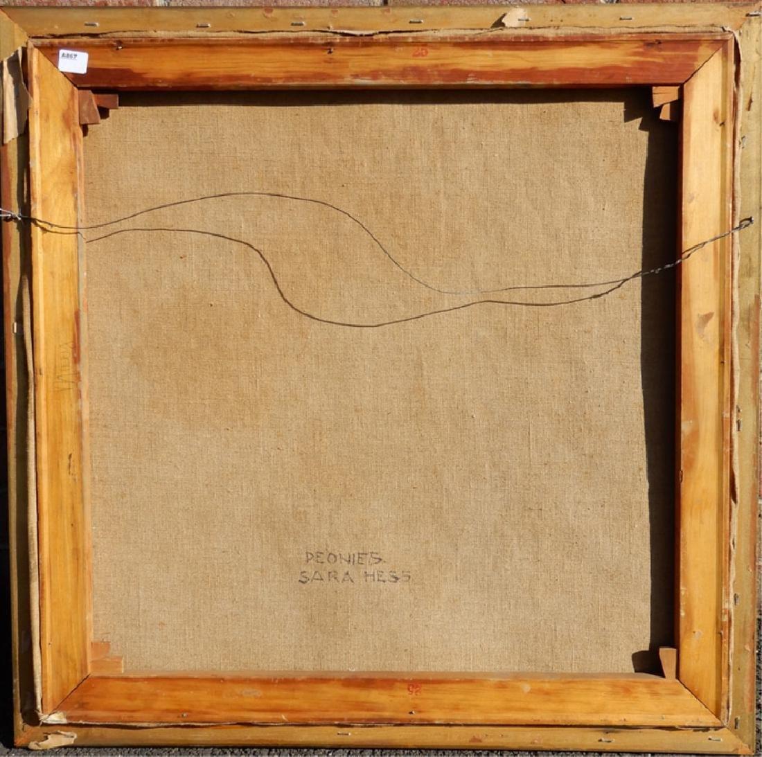 Sara (Mae) Hess oil on canvas - 4