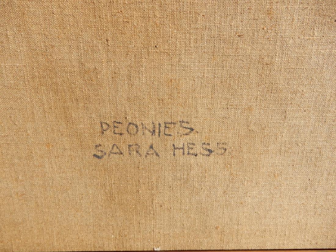 Sara (Mae) Hess oil on canvas - 5