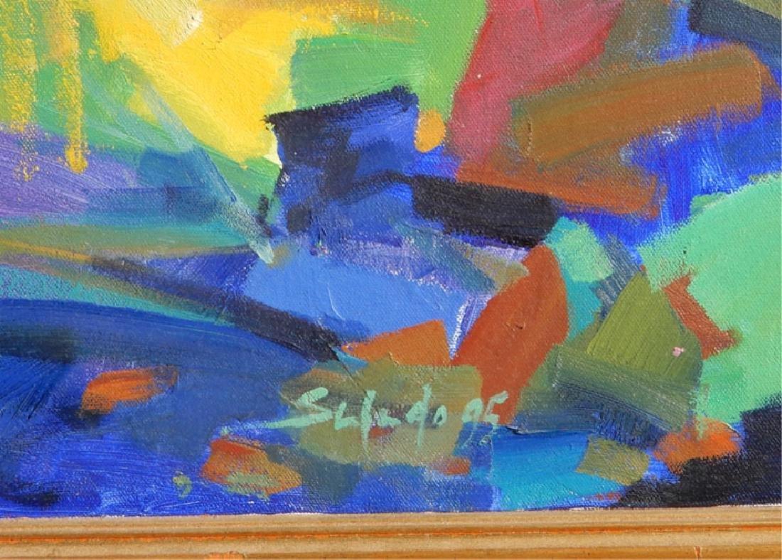 (Diego Santiago) Salado oil on canvas - 3