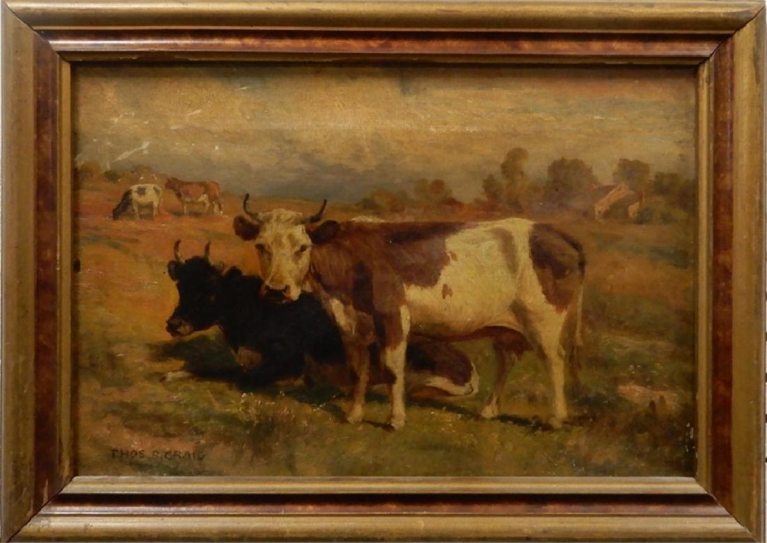 Thomas Craig oil on canvas