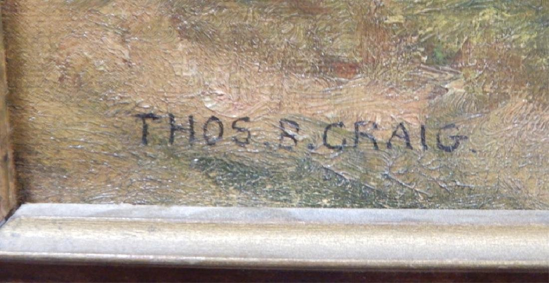 Thomas Craig oil on canvas - 3