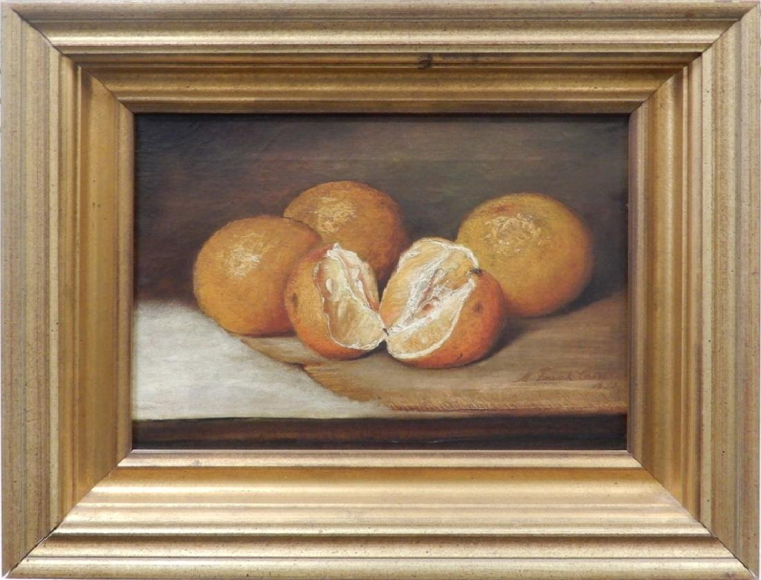 M. Frank Carll oil on canvas