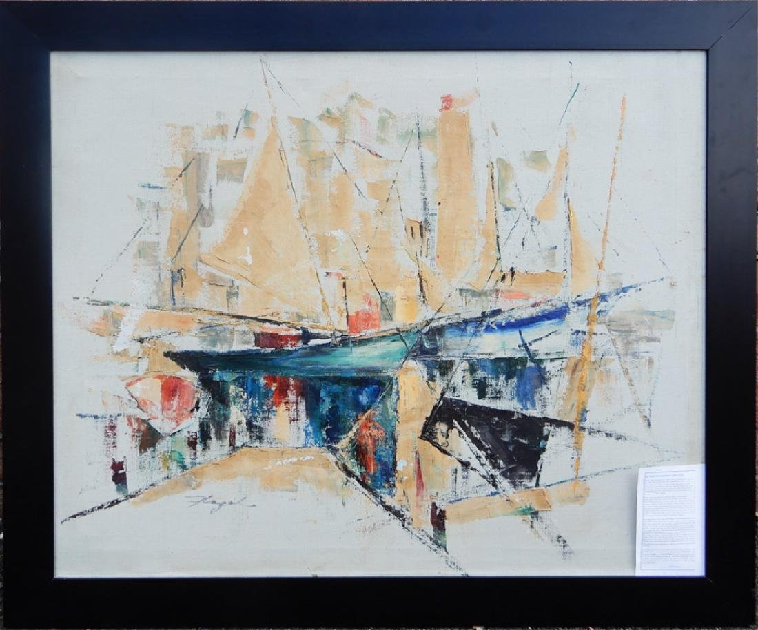 (Paul) Flegel oil on canvas