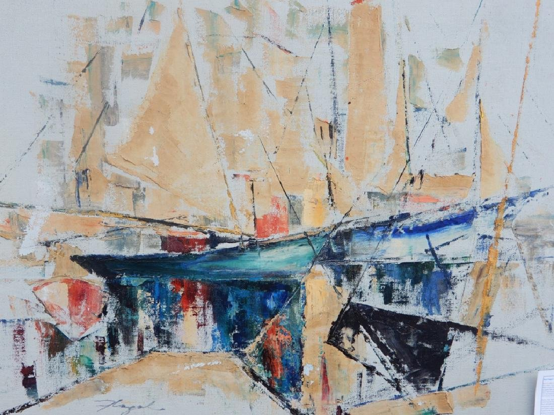 (Paul) Flegel oil on canvas - 2