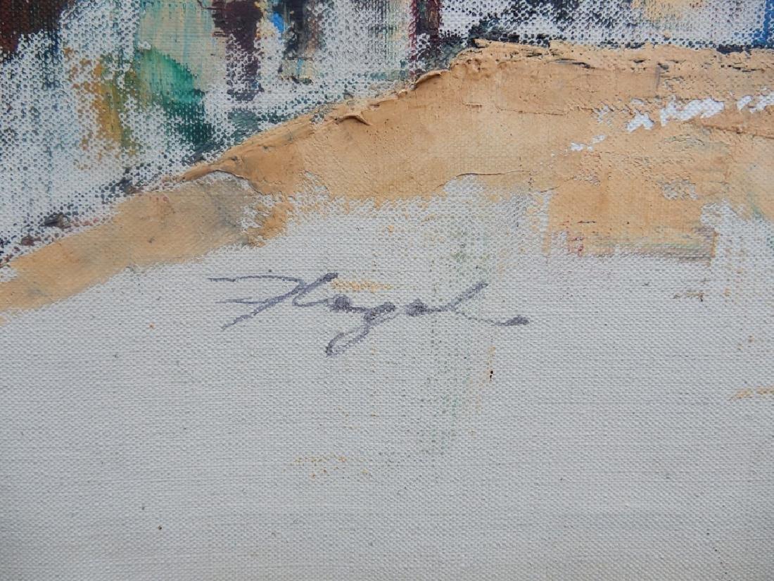 (Paul) Flegel oil on canvas - 3