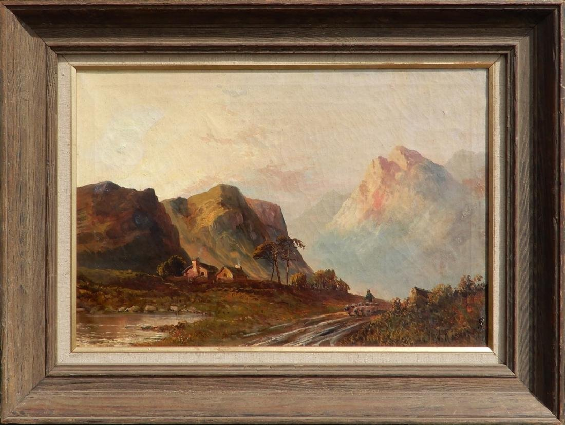 W. Richards oil on canvas