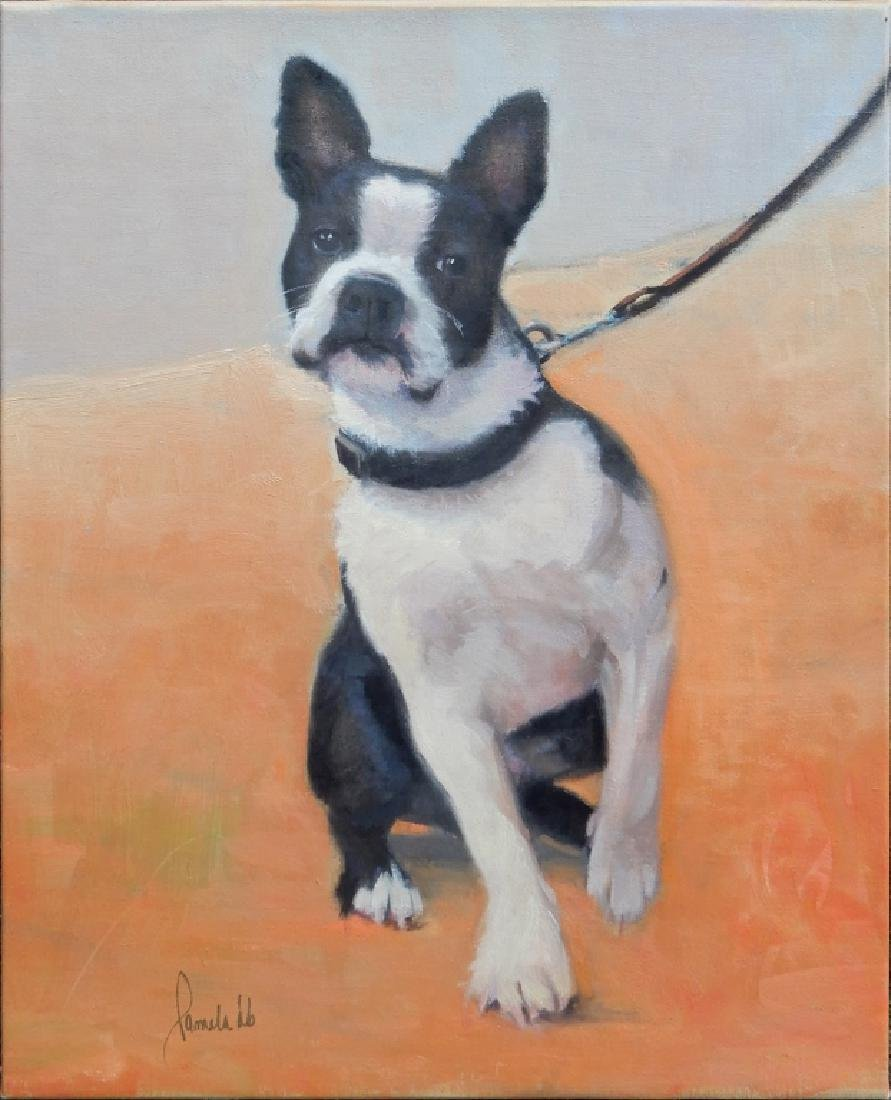 Pamela Dineen Barba oil on canvas
