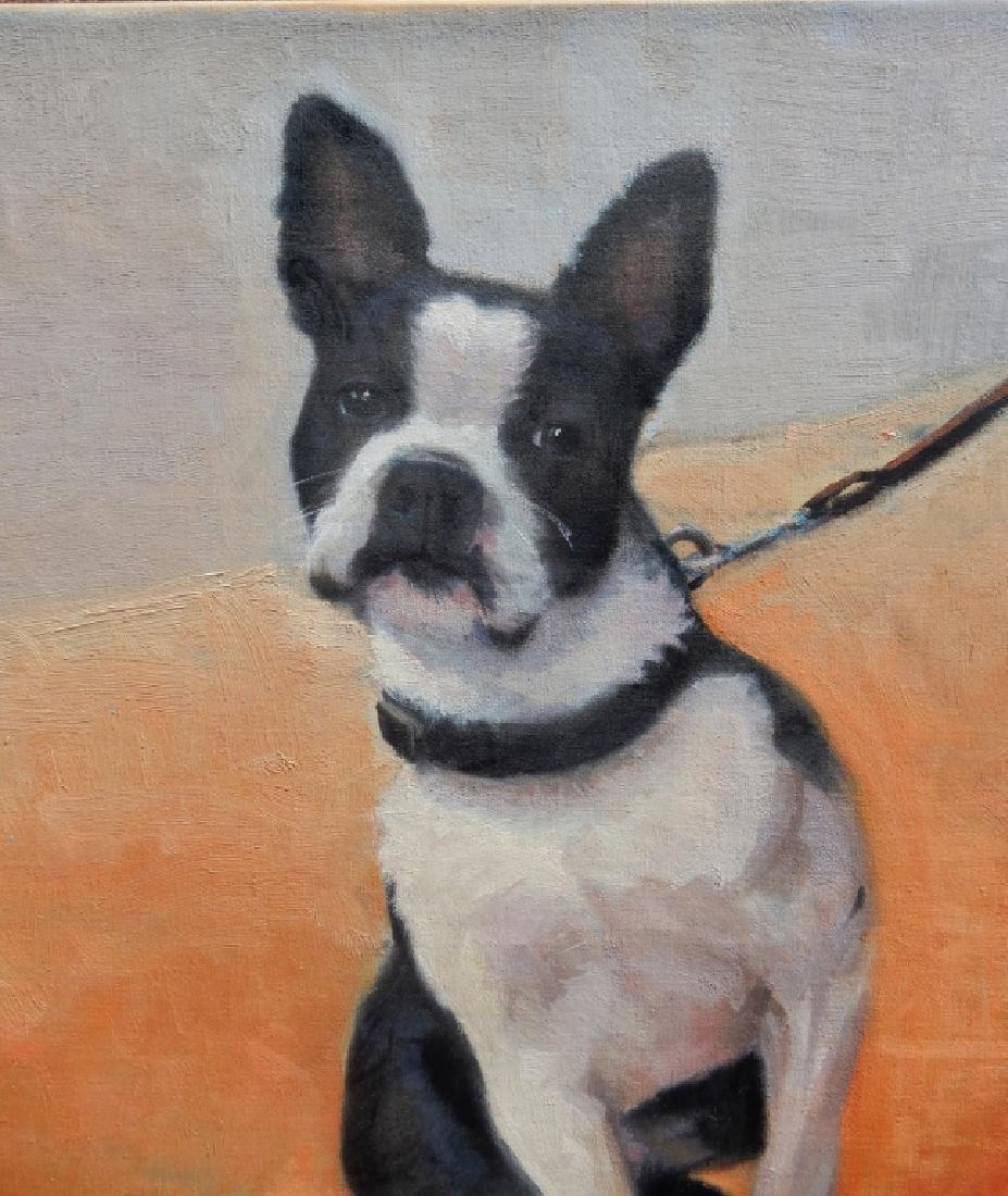 Pamela Dineen Barba oil on canvas - 2