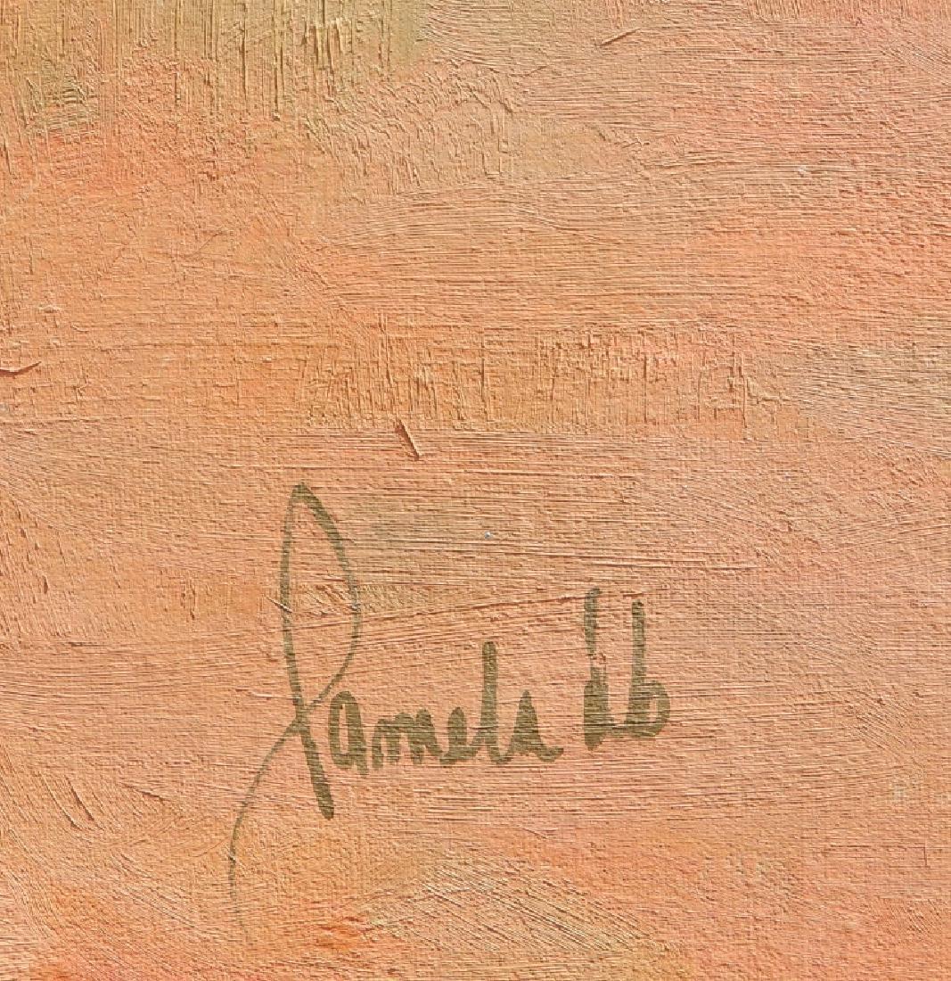 Pamela Dineen Barba oil on canvas - 3