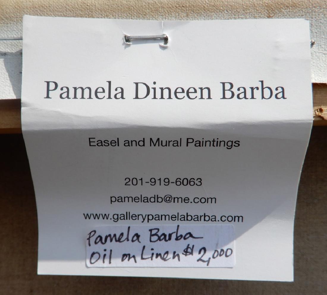 Pamela Dineen Barba oil on canvas - 5