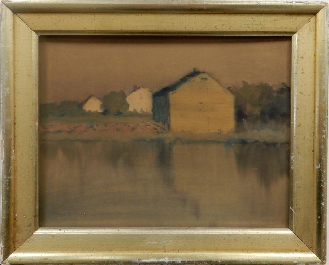 Henry B. Snell watercolor on paper