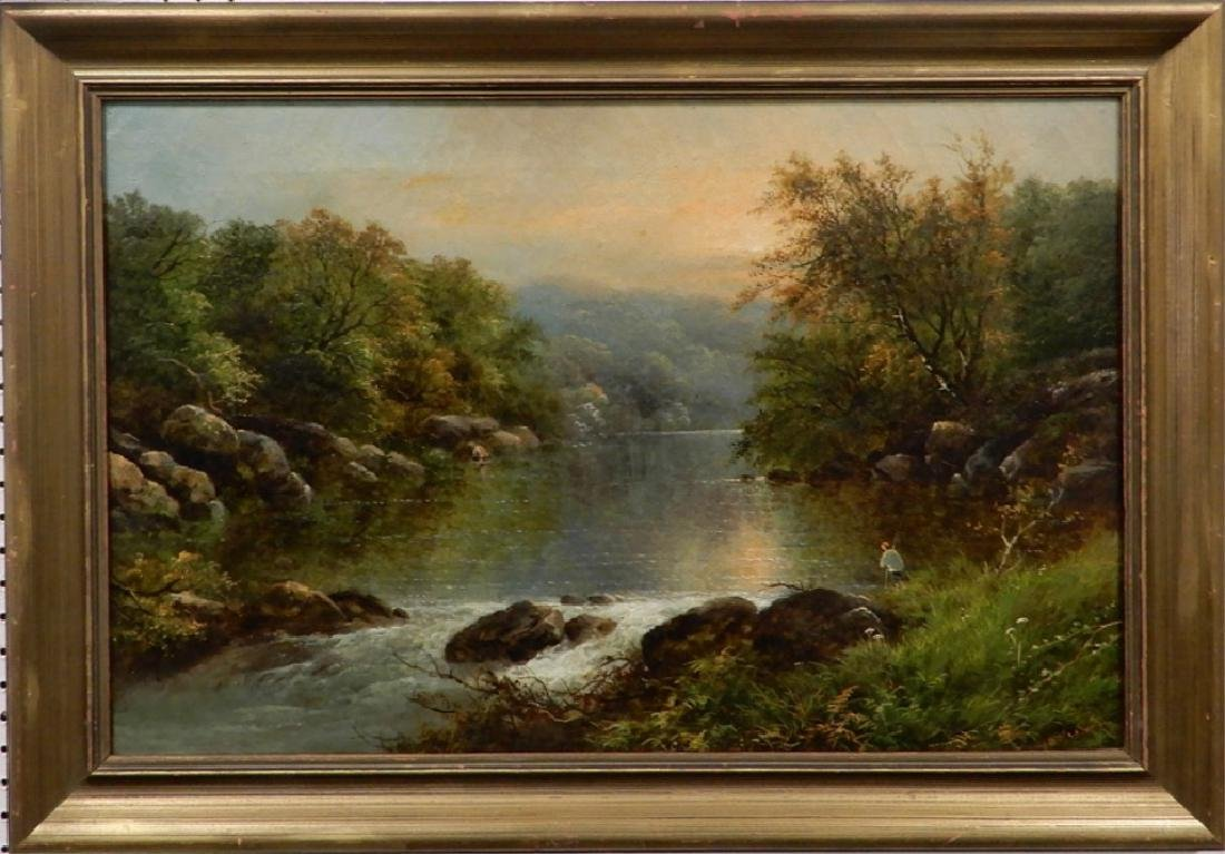 G. (George) B. Yarnold oil on canvas