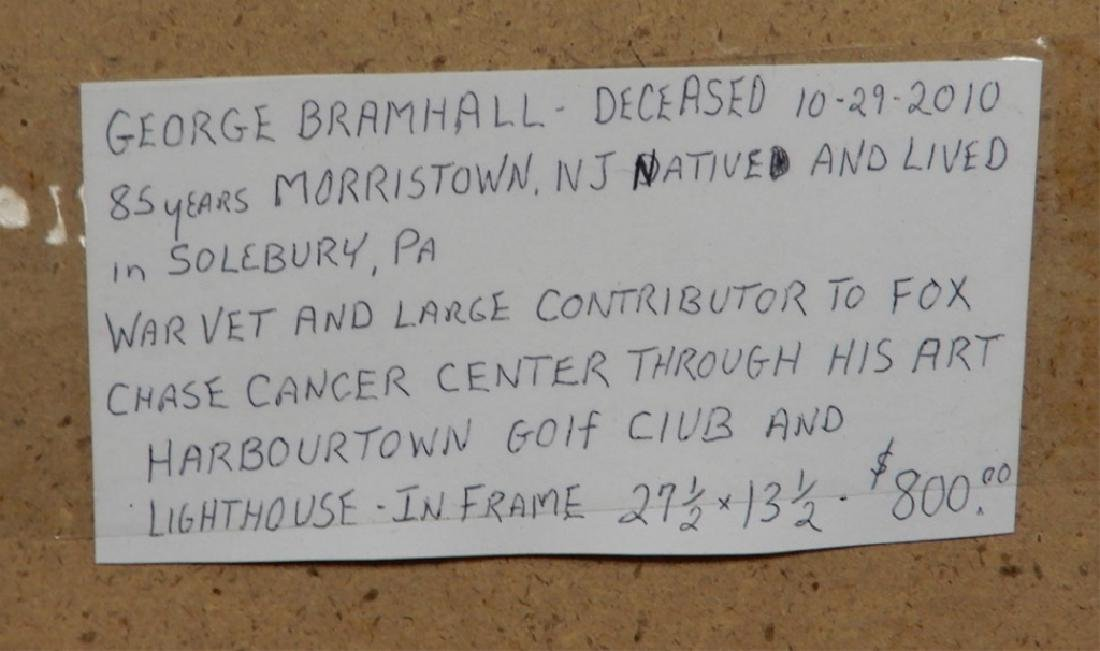 George Bramhall oil on board - 6