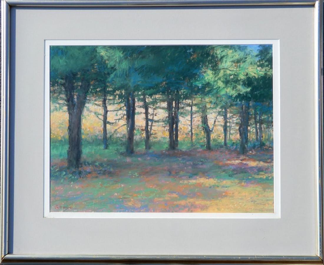 (Americo) Di Franza pastel landscape