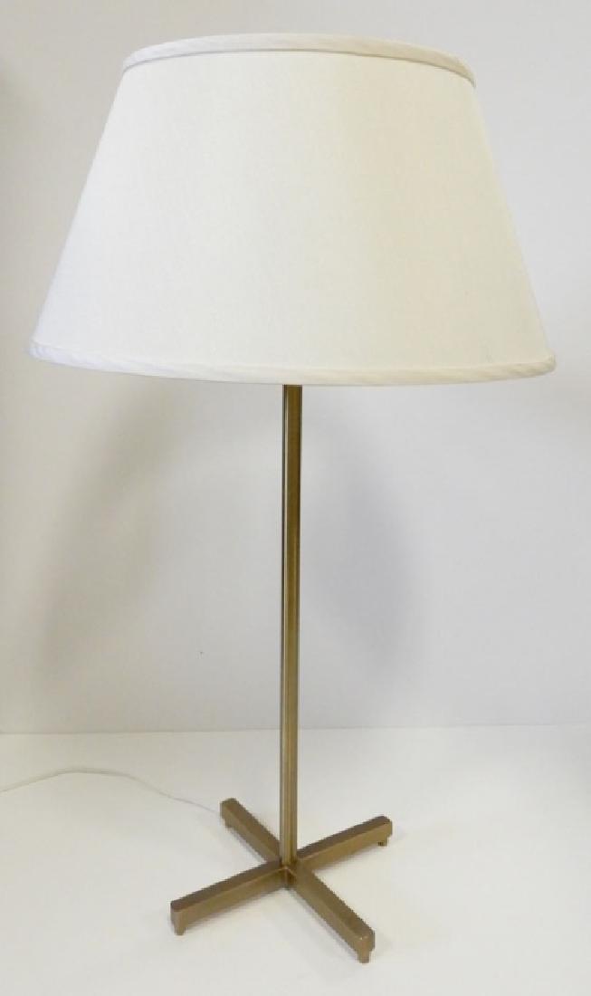 Mid C. brass lamp - 2