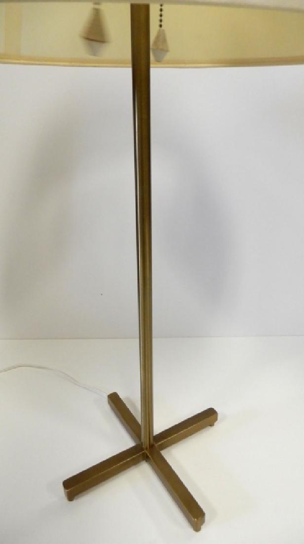 Mid C. brass lamp - 4