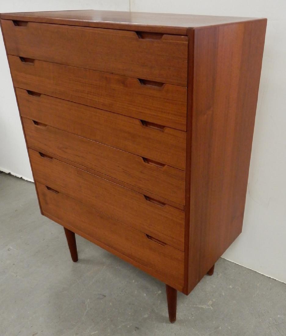 Danish Modern tall chest of drawers - 2