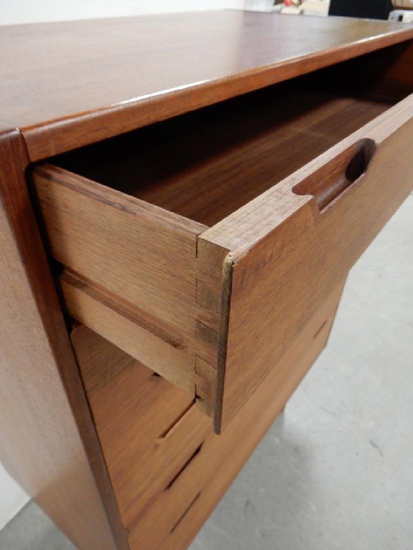 Danish Modern tall chest of drawers - 5