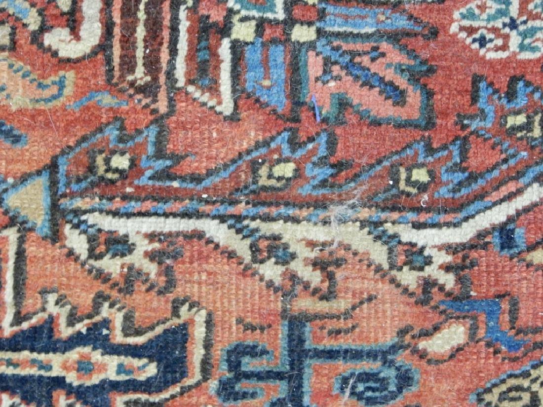 Hand tied Persian Heriz carpet - 3
